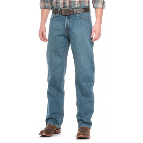 Stetson No. 1520 Medium Distressed Jeans (For Men)