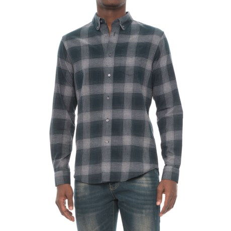Slate & Stone Irvin Rounded Collar Shirt - Long Sleeve (For Men)