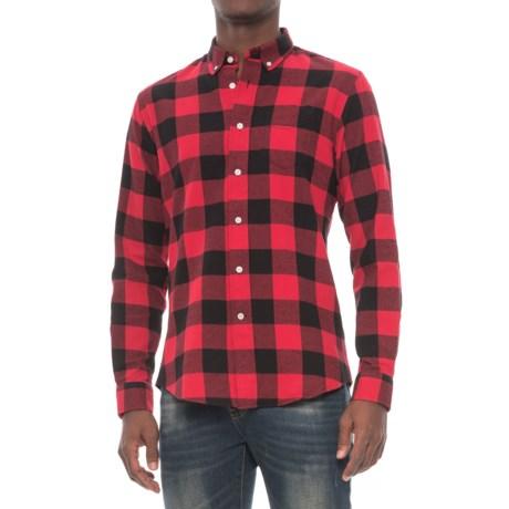 Slate & Stone Irvin Rounded Collar Shirt - Long Sleeve (For Men)