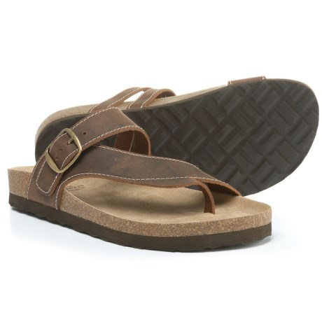 White Mountain Hasty Sandals - Leather (For Women)