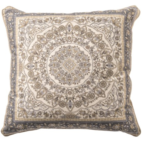 "EnVogue Denissa Printed Down Throw Pillow - 22x22"", Duck Feathers"