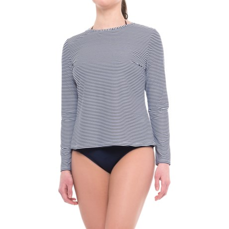 Nip Tuck Swim Swim Rash Guard Swim Shirt - UPF 50+, Long Sleeve (For Women)