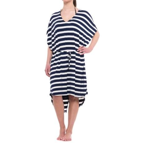 Nip Tuck Swim Swim Fishtail Kaftan Swimsuit Cover-Up - Short Sleeve (For Women)