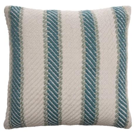 """EnVogue Quinton Stripe Woven Outdoor Throw Pillow - 20x20"""""""
