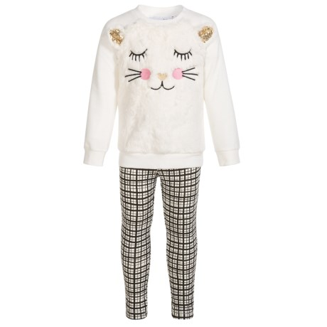 Kids Headquarters Sweatshirt and Leggings Set (For Toddler Girls)
