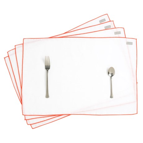 Bambeco Pure Linen Placemats - Set of 4