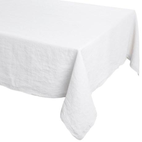 """Bambeco Pure Linen Everyday Tablecloth - 60x90"""""""