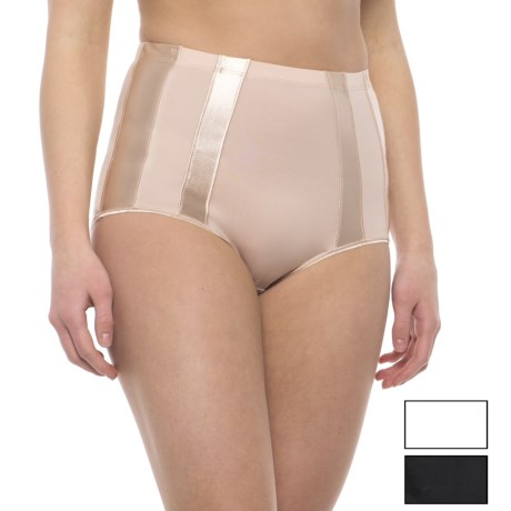 Marilyn Monroe Tuxedo Striped Shaping Panties - 3-Pack, Briefs (For Women)