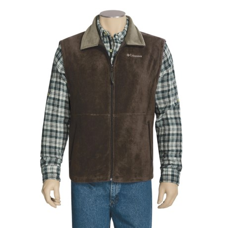Columbia Sportswear Cathedral Peak Fleece Vest (For Big and Tall Men)