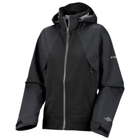 Columbia Sportswear Backcountry Bandit Shell - Waterproof, Titanium (For Women)