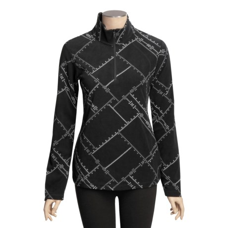 Columbia Sportswear Glacial Fleece Holiday Shirt - Zip Neck, Long Sleeve (For Women)
