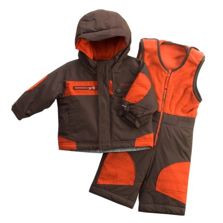 Columbia Sportswear General Dobby Set - Jacket and Bibs (For Infant Boys)
