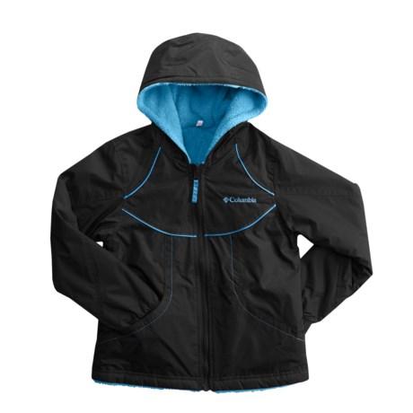Columbia Sportswear Ethan Pond II Jacket - Reversible (For Little Girls)