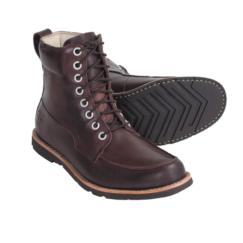 timberland earthkeepers moc toe boot