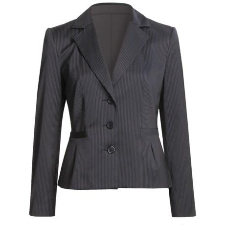 Louben Broken Pinstripe Jacket (For Women)