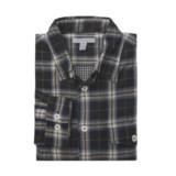 Martin Gordon Flannel Plaid Shirt - Double-Faced Cotton, Long Sleeve (For Men)
