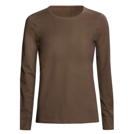 Specially made Stretch Cotton Shirt - Long Sleeve (For Women)