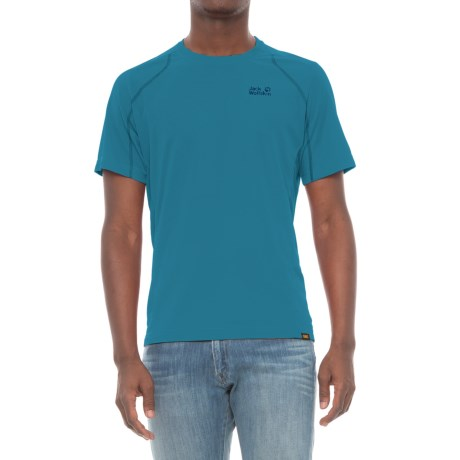 Jack Wolfskin San Diego Beach T-Shirt - Short Sleeve (For Men)