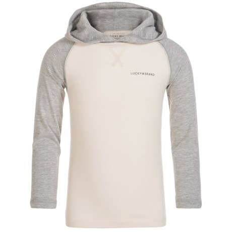 Lucky Brand Raglan Hoodie - Cotton (For Little Boys)