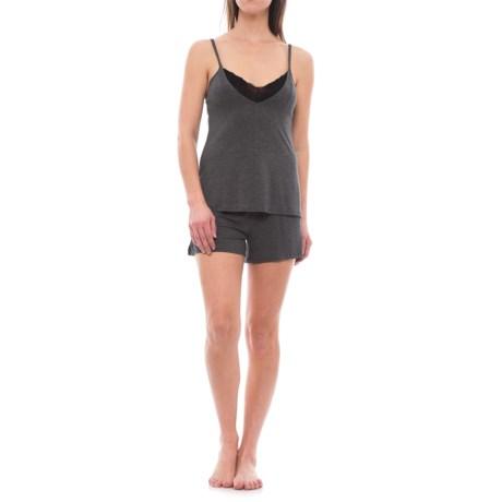 Danskin Tank Top and Shorts Pajamas - Built-In Bralette (For Women)