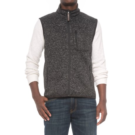 Smith's Workwear Sweater Fleece Vest (For Men)