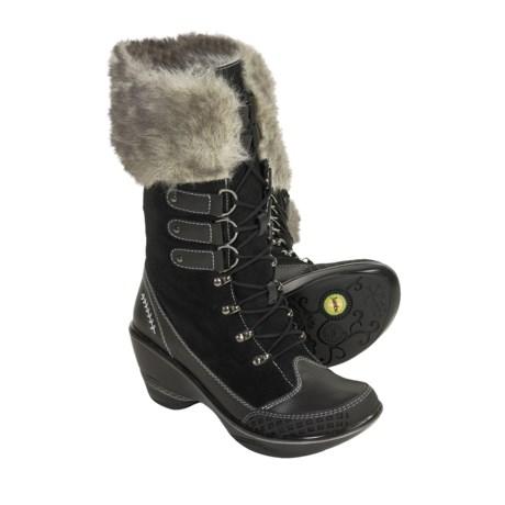 Jambu Cruise Boots - Leather, Faux-Fur Trim (For Women)