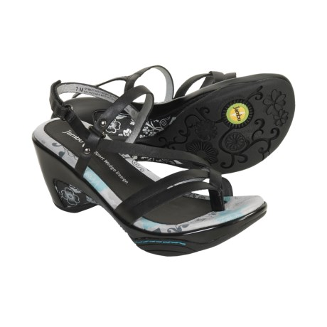 Jambu St. Martin Strappy Sandals - Leather (For Women)