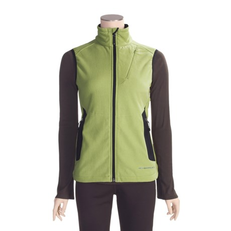 ExOfficio Wind Logic Vest - Polartec® Wind Pro®, Chamois Fleece (For Women)