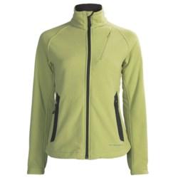 ExOfficio Polartec® Wind Pro® Wind Logic Jacket - Chamois Fleece (For Women)