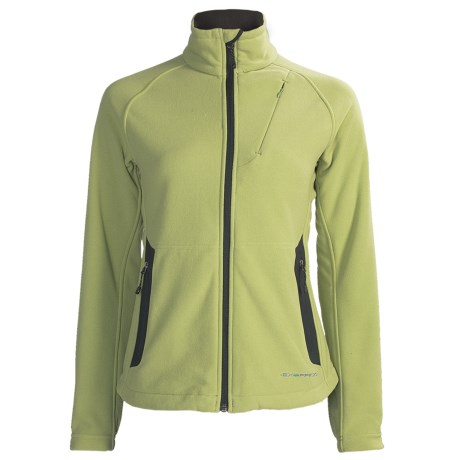 ExOfficio Polartec® Wind Pro® Wind Logic Jacket - Chamois Fleece (For Women)