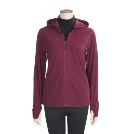 ExOfficio Migrator Hoodie Jacket- Recycled Fleece (For Women)