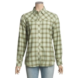 ExOfficio Trailing Off Shirt - Plaid Flannel, Long Sleeve (For Women)