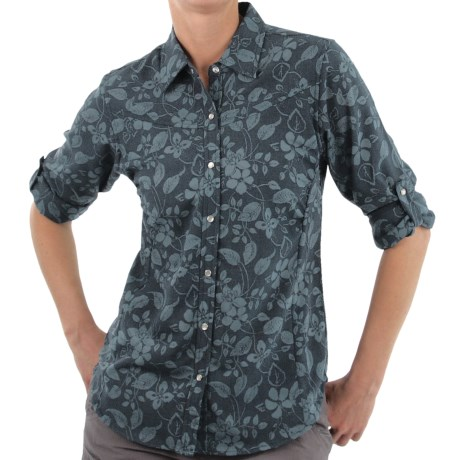 ExOfficio Trifera Flora Shirt - Long Sleeve (For Women)