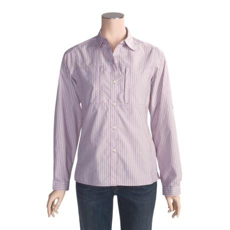 ExOfficio Dryflylite Check Shirt - UPF 30, Long Sleeve (For Women)