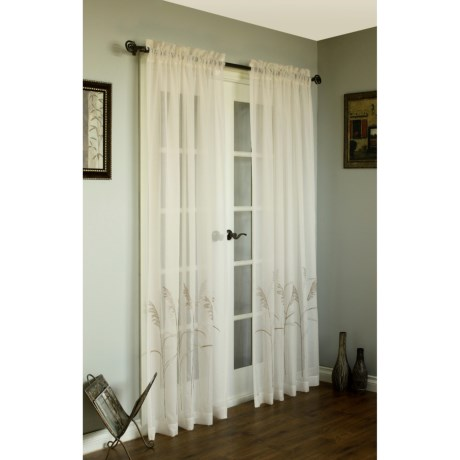 Commonwealth Home Fashions Curtains - Faux Linen, Pole-Top, 108x84""