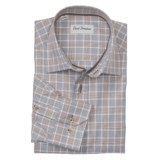 David Donahue Glen Plaid Shirt - Spread Collar, Long Sleeve (For Men)