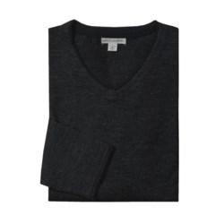 Martin Gordon V-Neck Sweater - Merino Wool (For Men)