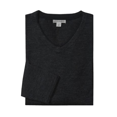 Martin Gordon V-Neck Sweater - Merino Wool (For Men)