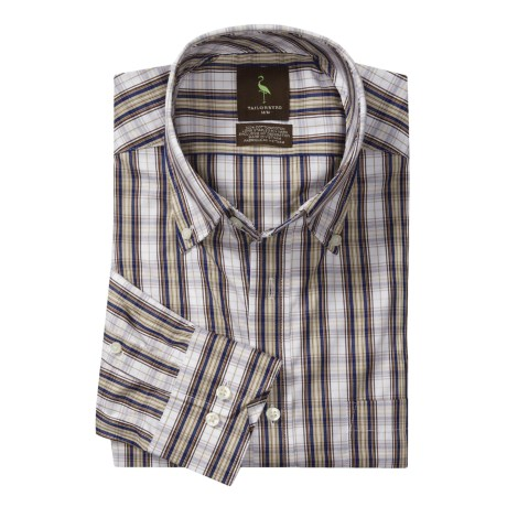 Tailorbyrd Button-Down Collar Sport Shirt - Cotton, Long Sleeve (For Men)
