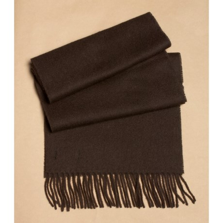 Abraham Moon & Sons Moon Solid Heather Scarf - Cashmere