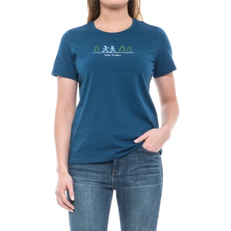 Life is good® Midnight Hiker T-Shirt - Short Sleeve (For Women)