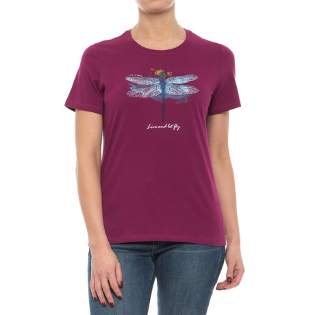 Life is good® Dragonfly T-Shirt - Short Sleeve (For Women)