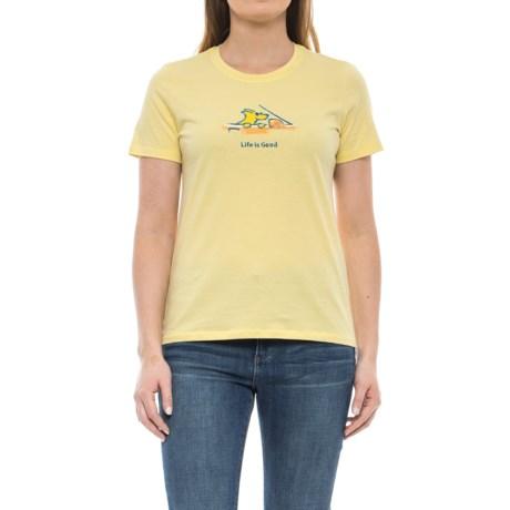Life is good® Car Ride T-Shirt - Short Sleeve (For Women)