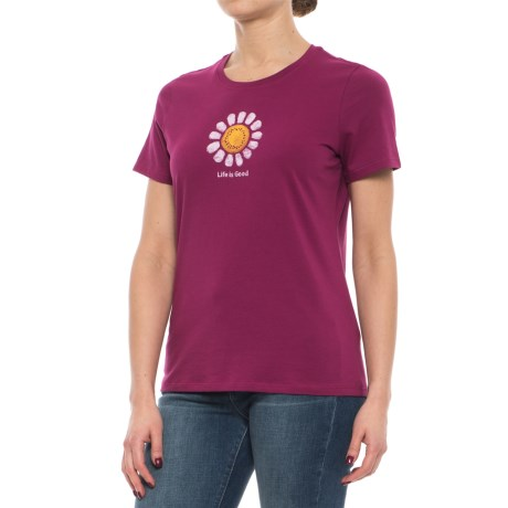 Life is good® Daisy T-Shirt - Short Sleeve (For Women)