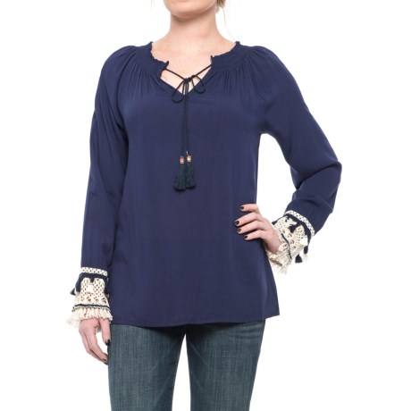 Studio West Challis Shirt - Long Sleeve (For Women)