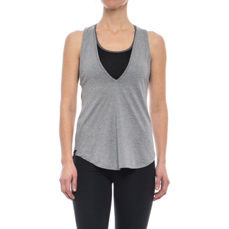 Satva Peak Tank Top - Organic Cotton-Modal (For Women)