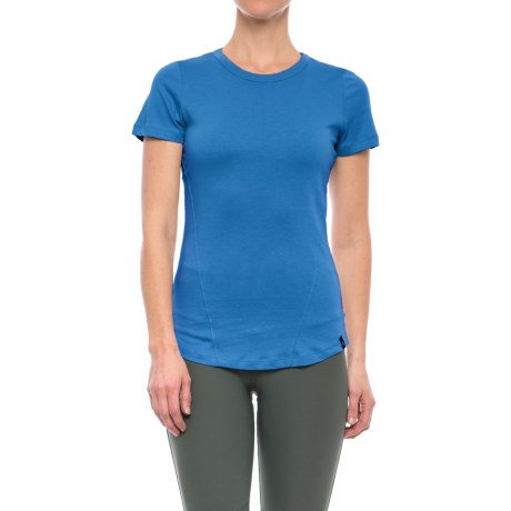 Satva Bianca Shirt - Organic Cotton, Short Sleeve (For Women)