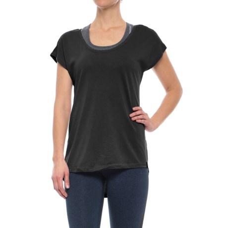 Satva Tamira T-Shirt - Organic Cotton, Short Sleeve (For Women)
