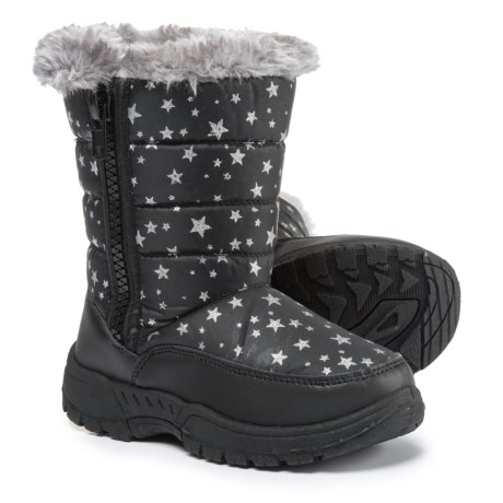 Capelli Star Print Winter Boots (For Girls)