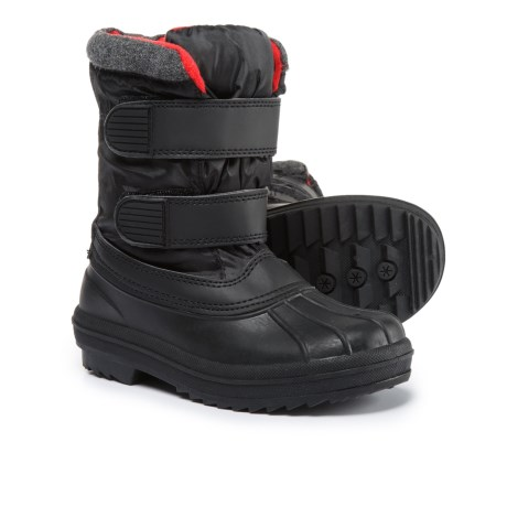 Capelli New York Double Strap Snow Boots (For Boys)
